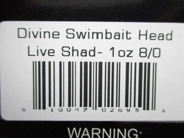 Divine Swimbait Head 1oz