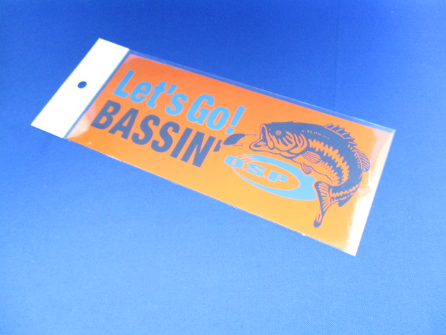 O.S.P Let's Go! BASSIN'ステッカー